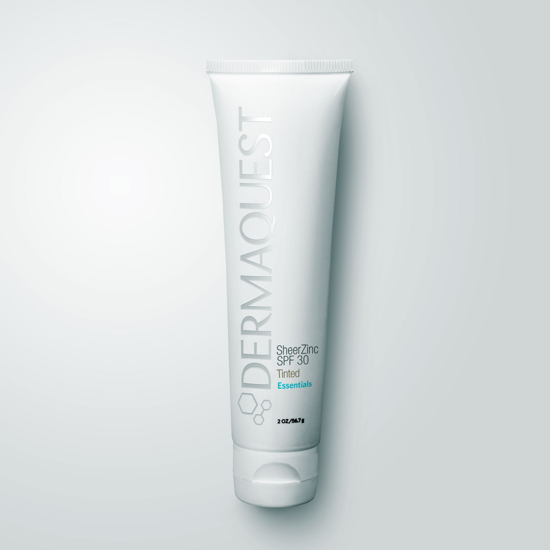 SheerZinc SPF 30 Tinted - Nude - DermaQuest | Professional
